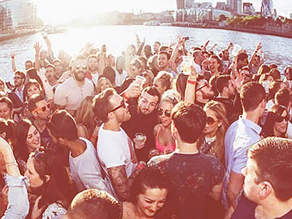 The Nest take to the Thames for Summer Boat Party