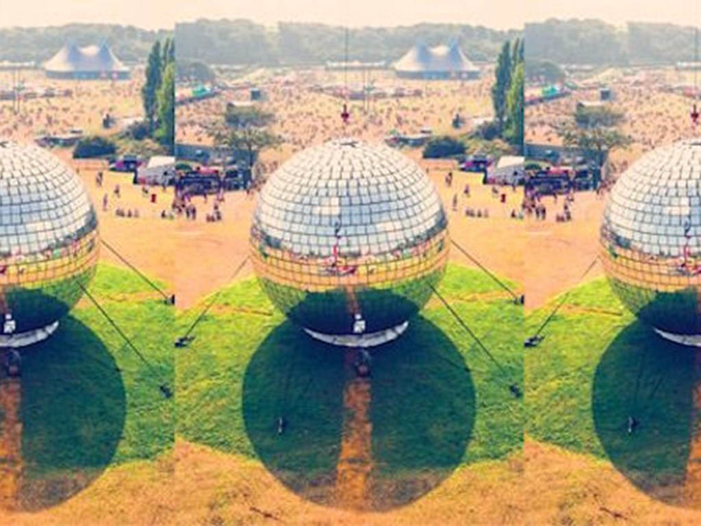 Bring the world's biggest disco ball to your doorstep