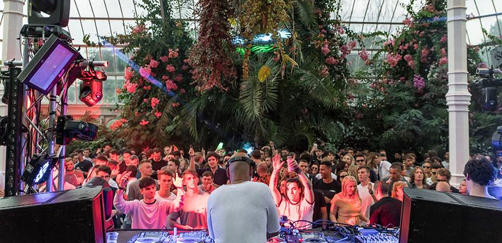 Watch Yousef, Reboot and Dennis Ferrer live from Circus at Sefton Park Palm House
