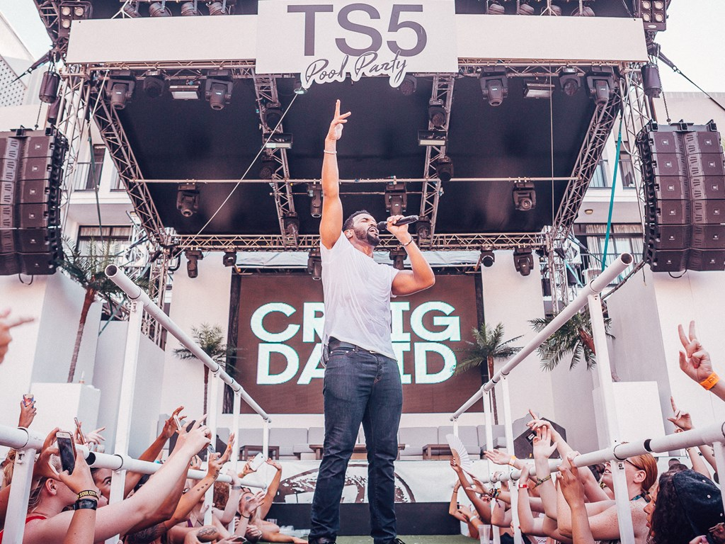Lineups announced for Ibiza Rocks Craig David TS5 pool parties