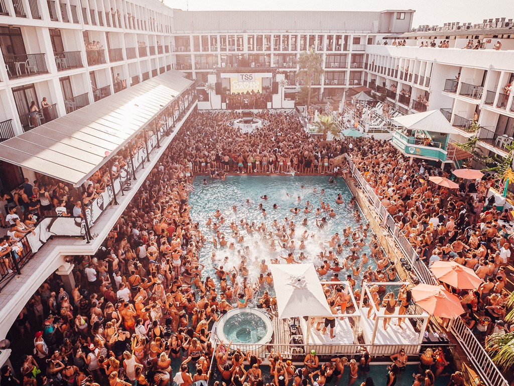 Lineups revealed for MK pool party residency at Ibiza Rocks Hotel
