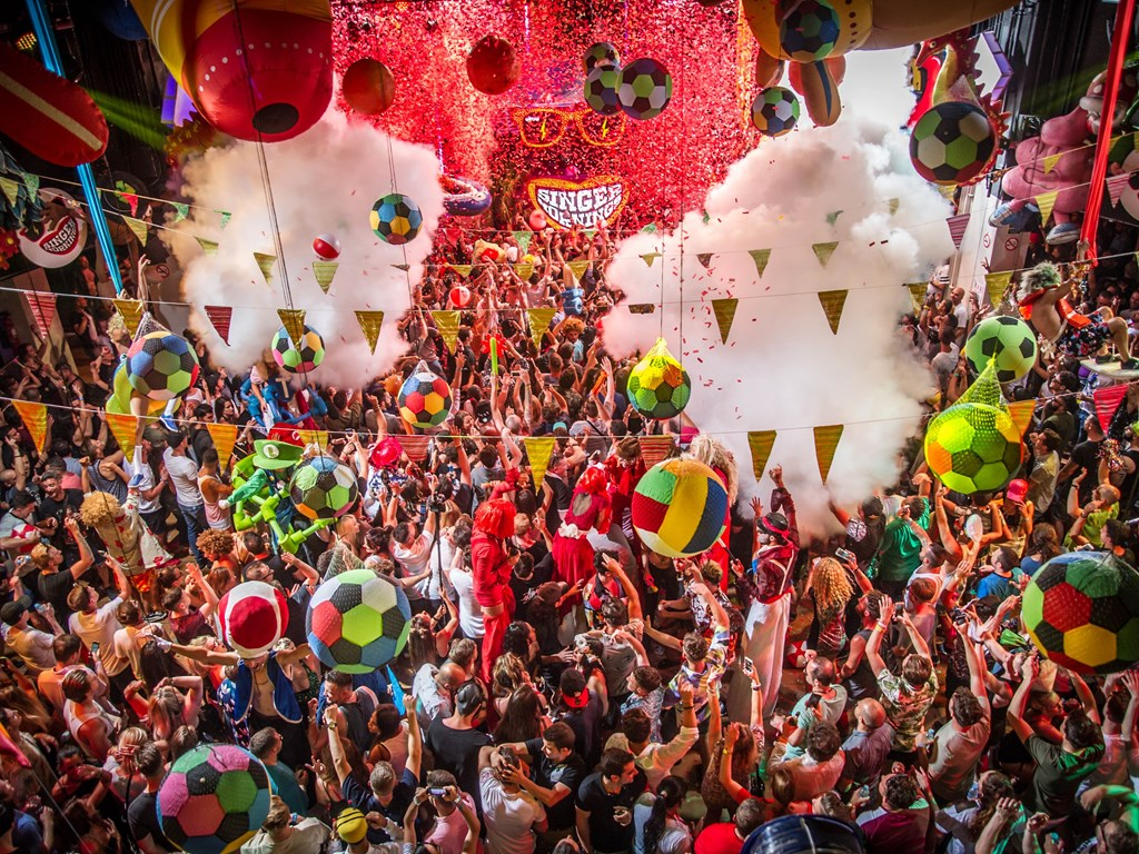 Claptone and Shy FX join Fatboy Slim and Idris Elba for elrow Town takeover