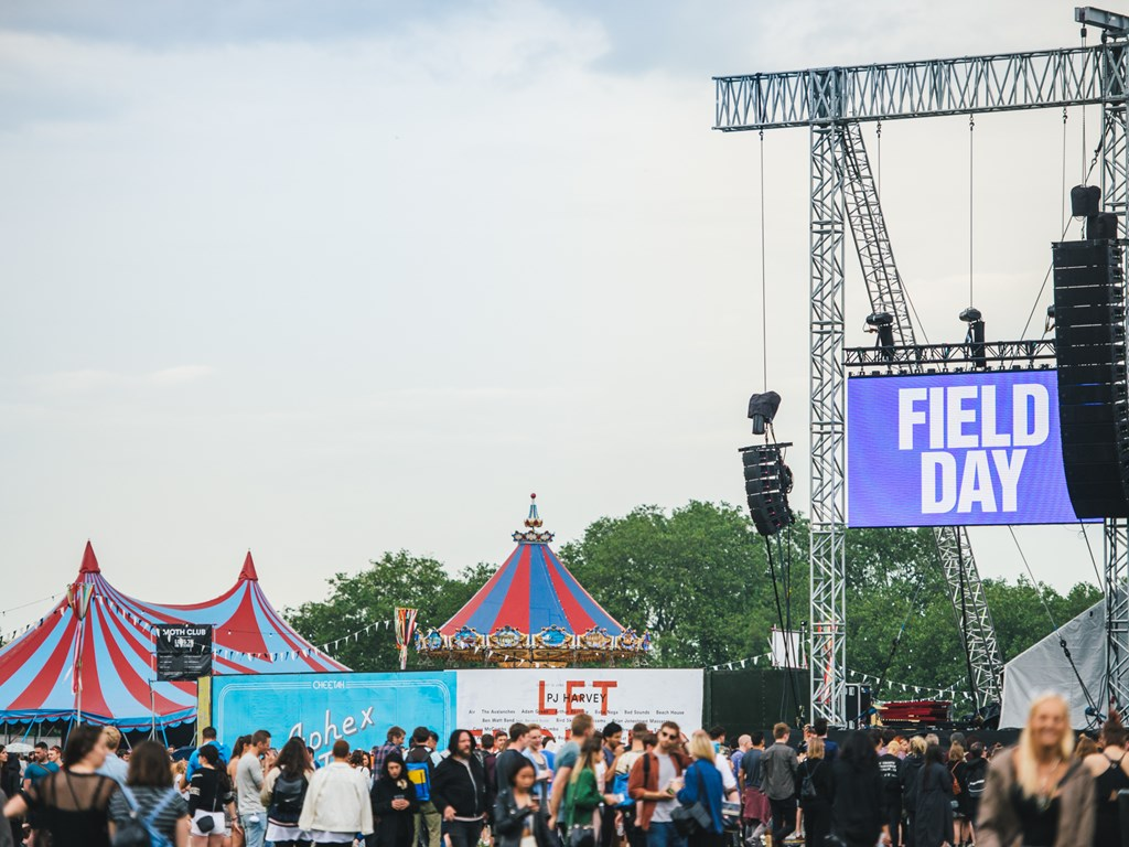 Field Day to move to Brockwell Park in Brixton