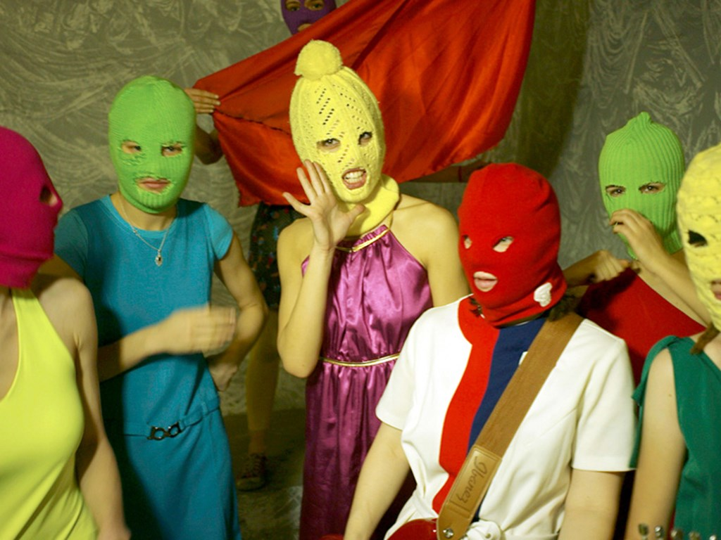 Political activists Pussy Riot head to Bristol
