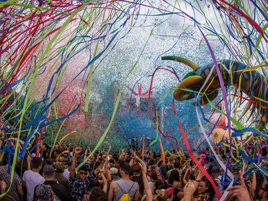 Newcastle host elrow this August bank holiday with 'Enchanted Forest' theme