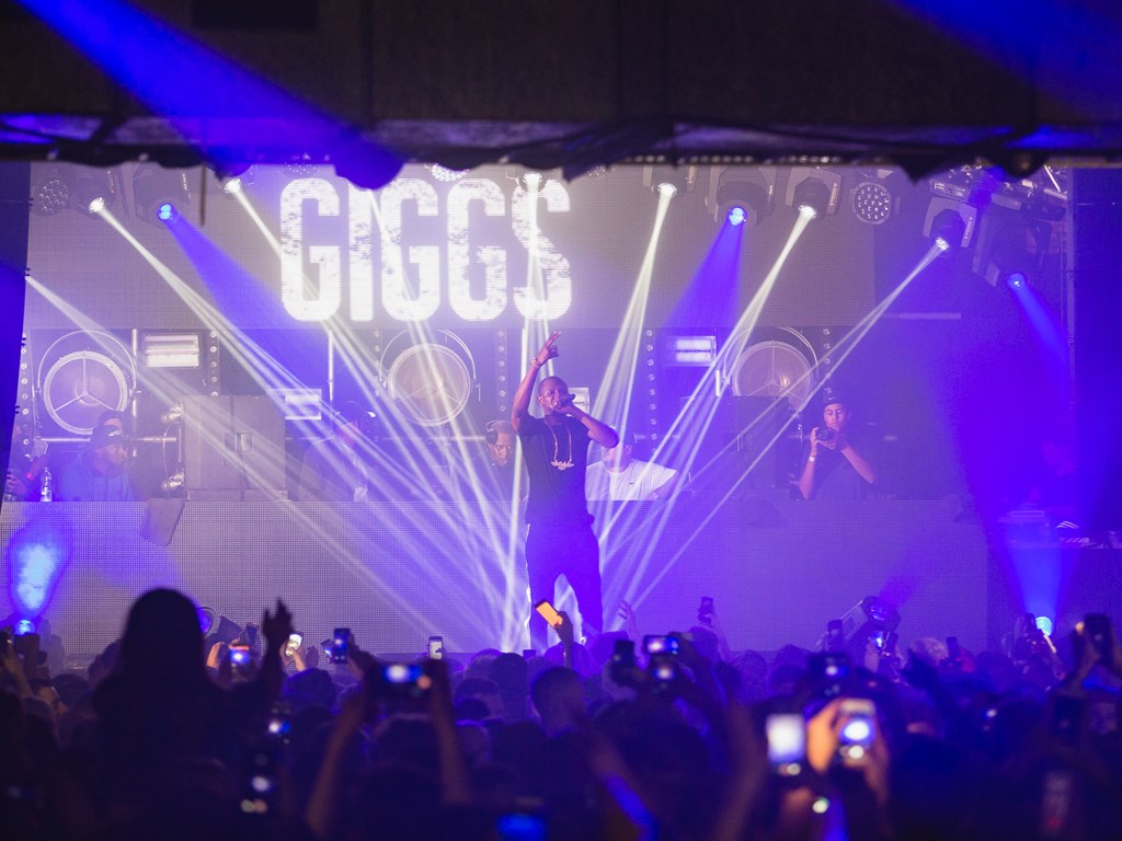 In Review: The Warehouse Project - Giggs