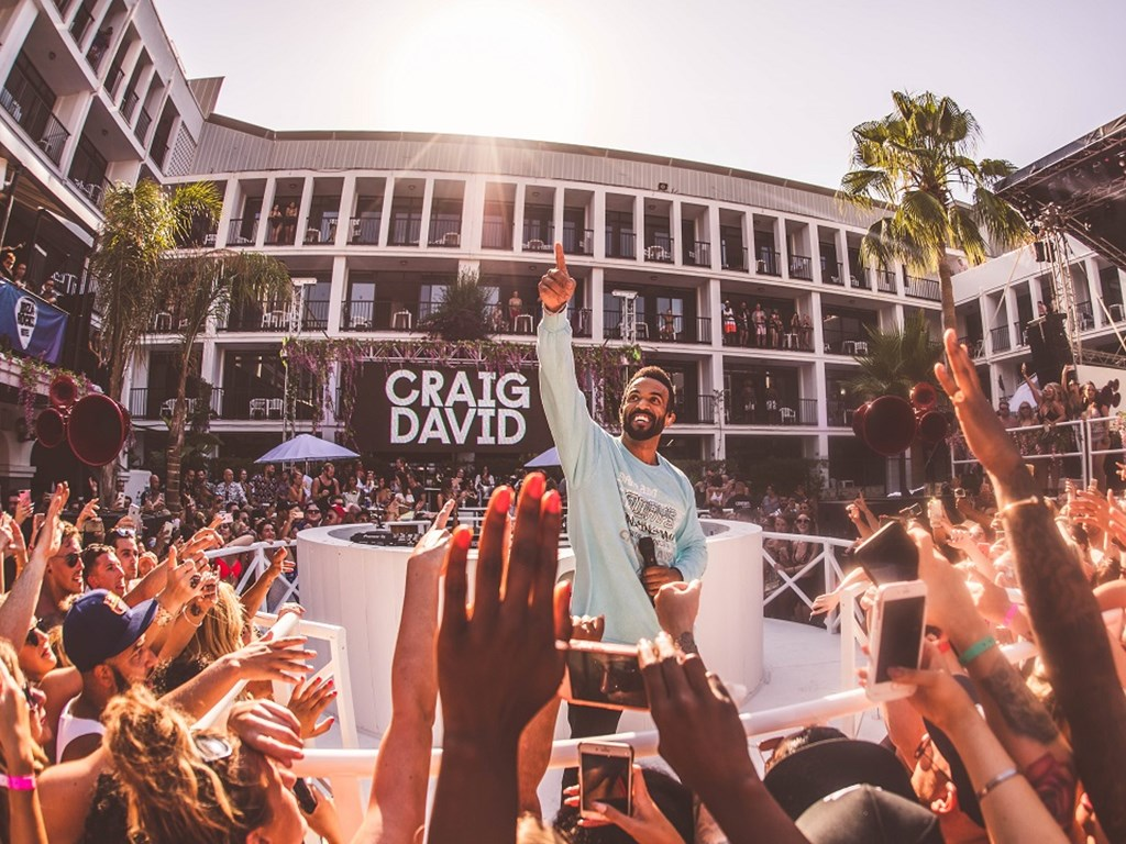 Craig David's TS5 residency returns to Ibiza Rocks Hotel
