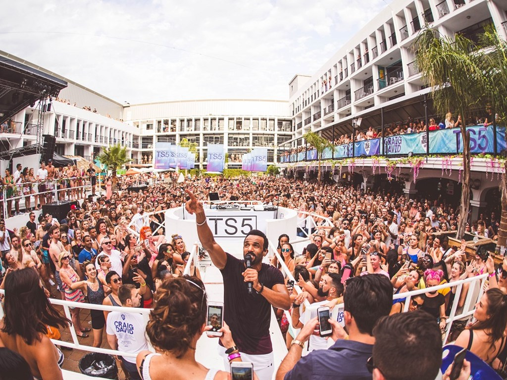 Craig David's TS5 pool parties on sale now