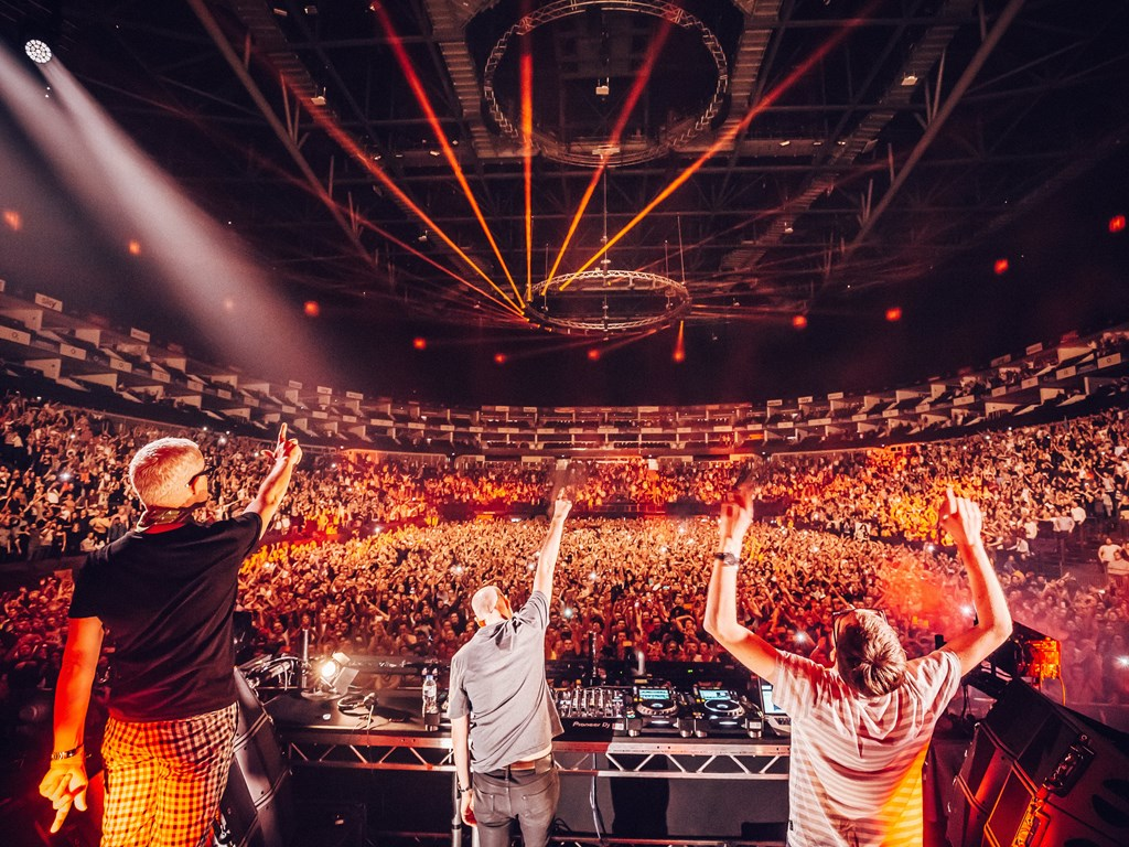 Creamfields present Tiesto and Above & Beyond at Steel Yard London