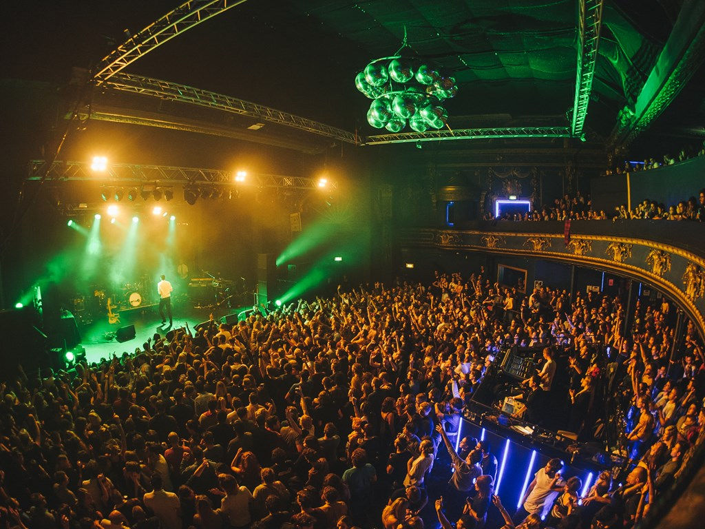 Jonas Blue claims headline set at London's Electric Brixton