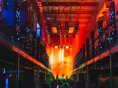 In Review: Printworks Opening 2018 - The Hydra, London