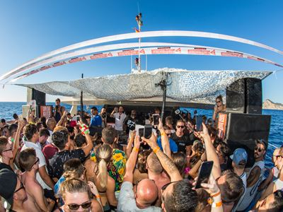 Float Your Boat launch Friday parties in Ibiza