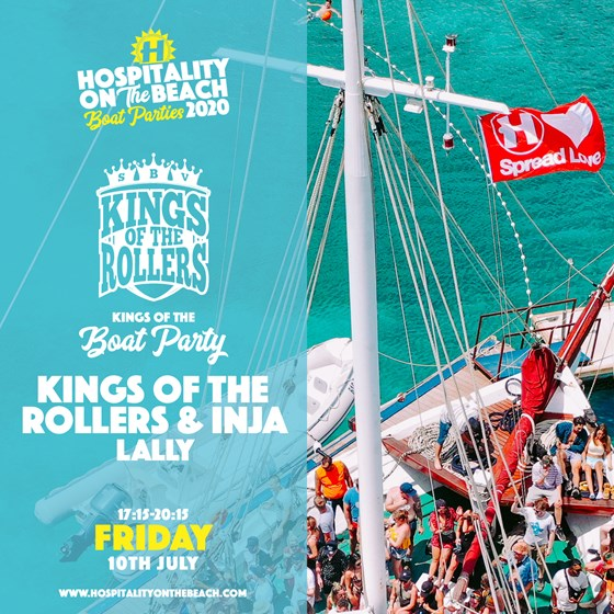 Friday 17:15-20:15 Kings Of The Boat Party