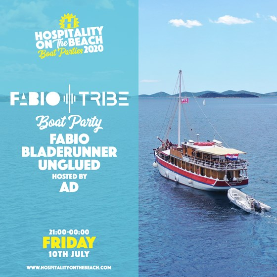Friday 21:00-00:00 Tribe Boat Party