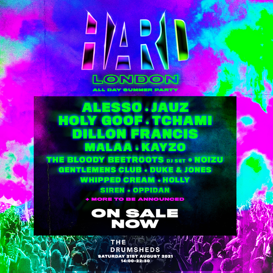 Hard London – All Day Summer Party 2021 – Cancelled