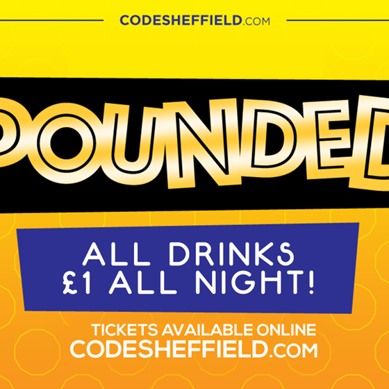 Pounded at CODE!