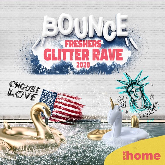 Bounce // The BIG Freshers Glitter Rave // Week One