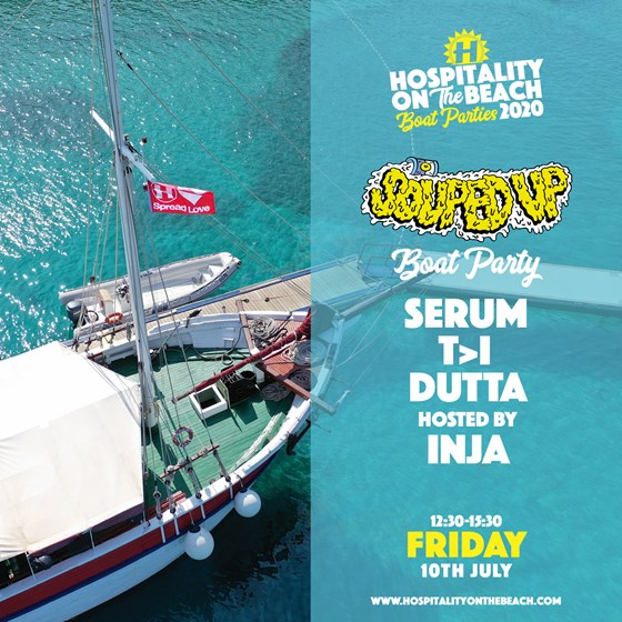 Friday 12:30-15:30 Souped Up Boat Party