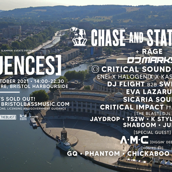 Sequences present: Chase & Status