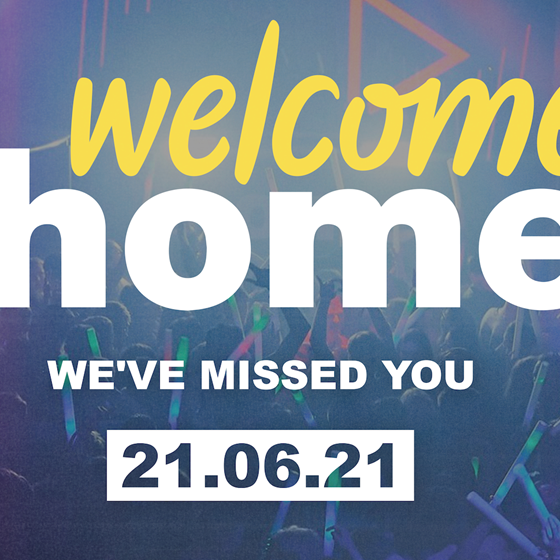 Welcome Home   Mon 19th July
