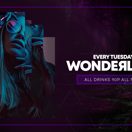 Wonderland - 90p Drinks - Every Tuesday at CODE