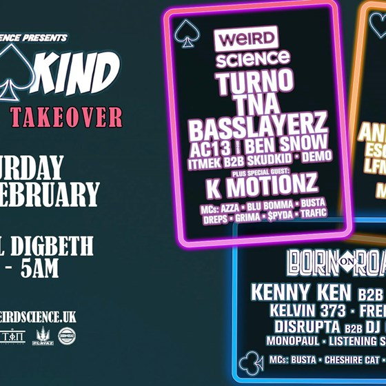 3 Of A Kind: Turno x Playaz x Born On Road