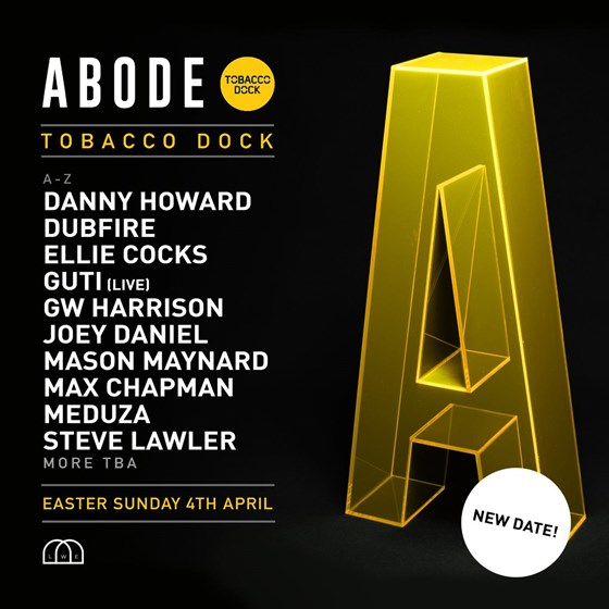 ABODE In The Dock - Rescheduled to 31/10/2021