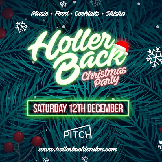 Holler Back Christmas Party