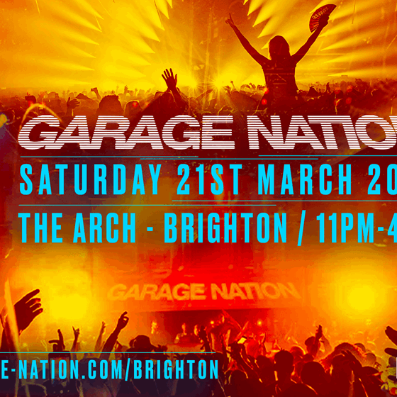 Garage Nation Brighton (Date TBC)