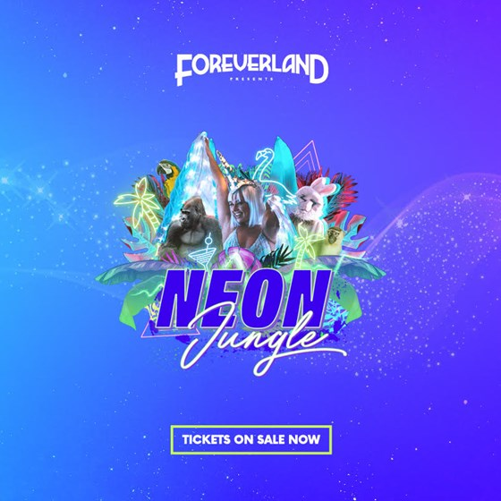 Foreverland Cardiff: Neon Jungle Rave 2021