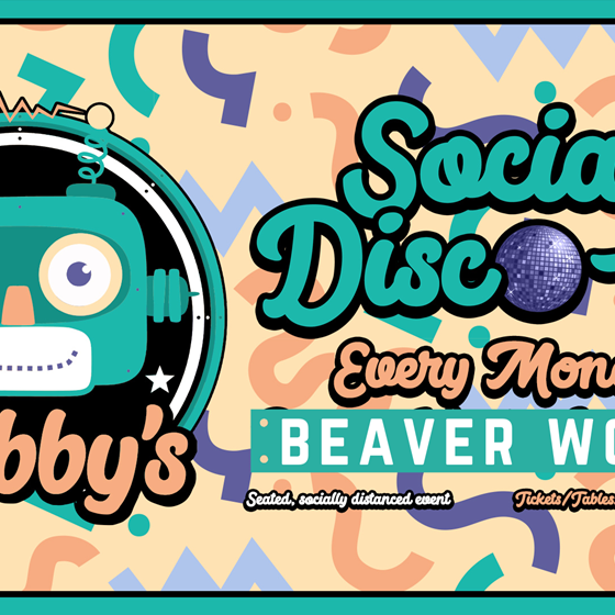 Bobby's Disco Club at Beaver Works every Monday
