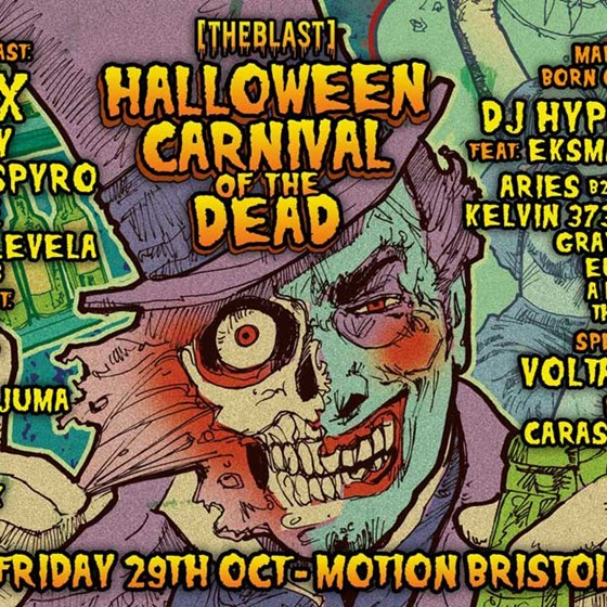 The Blast Halloween Carnival of the Dead
