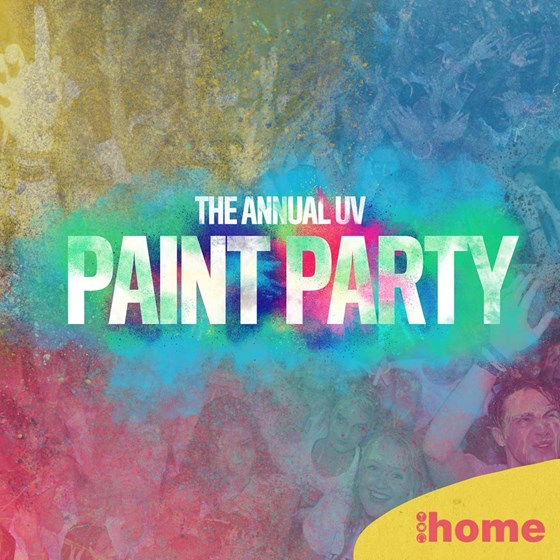 The Annual UV Paint Party - Freshers Week One
