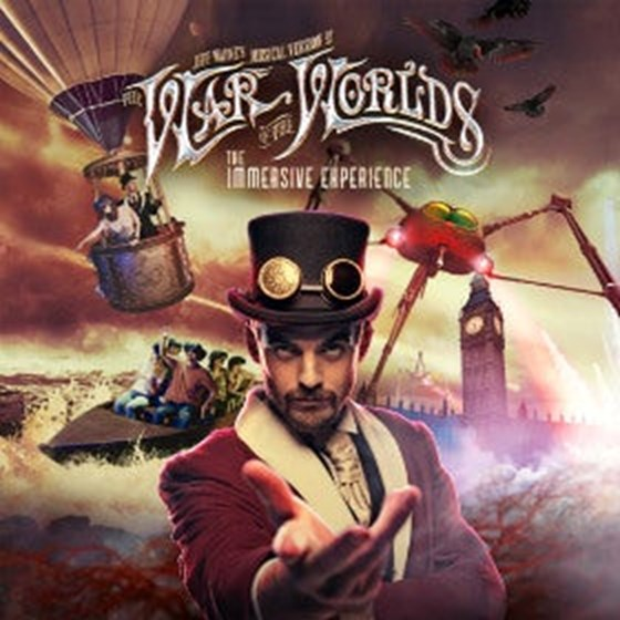 Image result for jeff wayne's war of the world